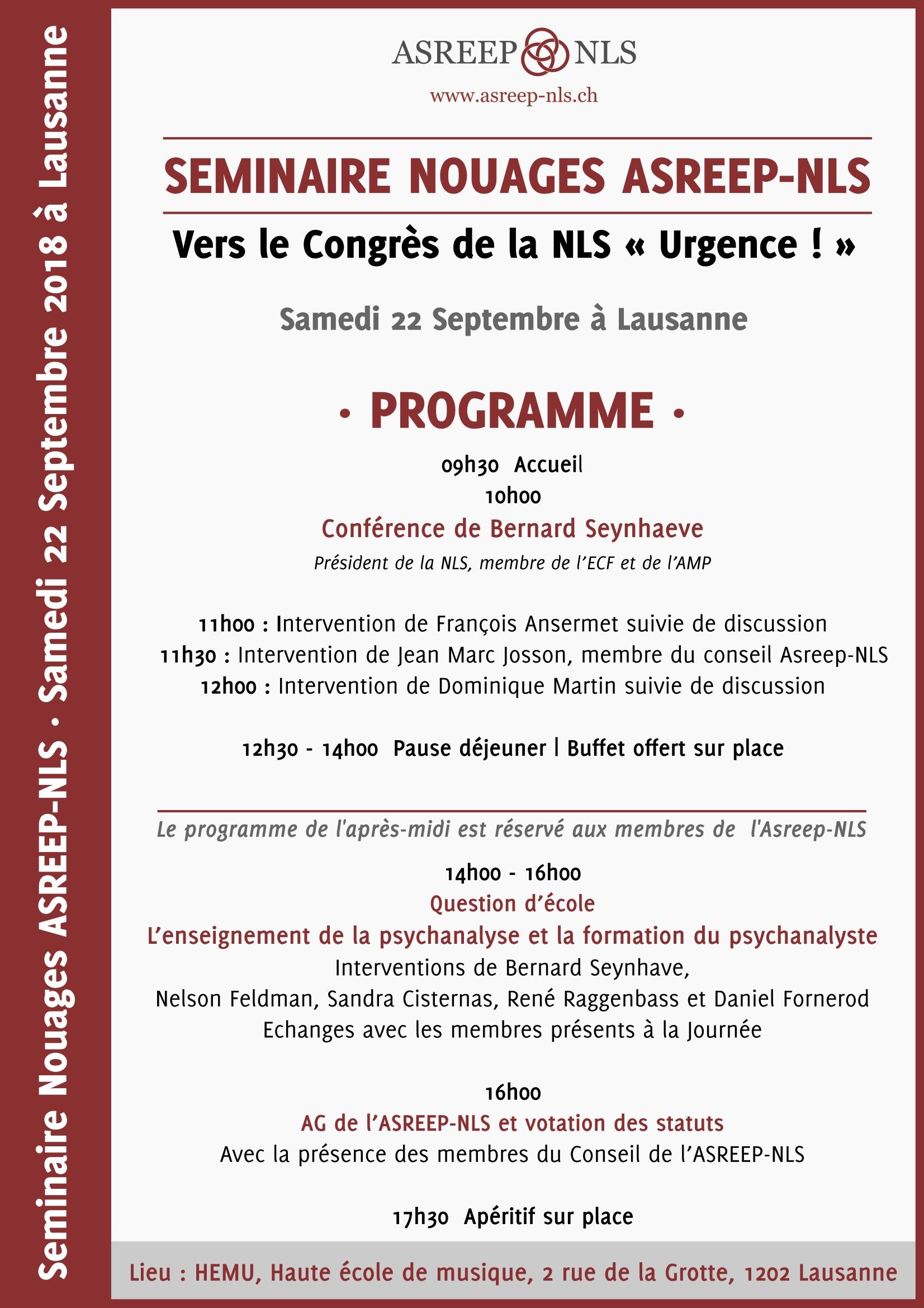 http://www.asreep-nls.ch/seminaire-nouages-asreep-nls-vers-le-congres-de-la-nls-urgence/